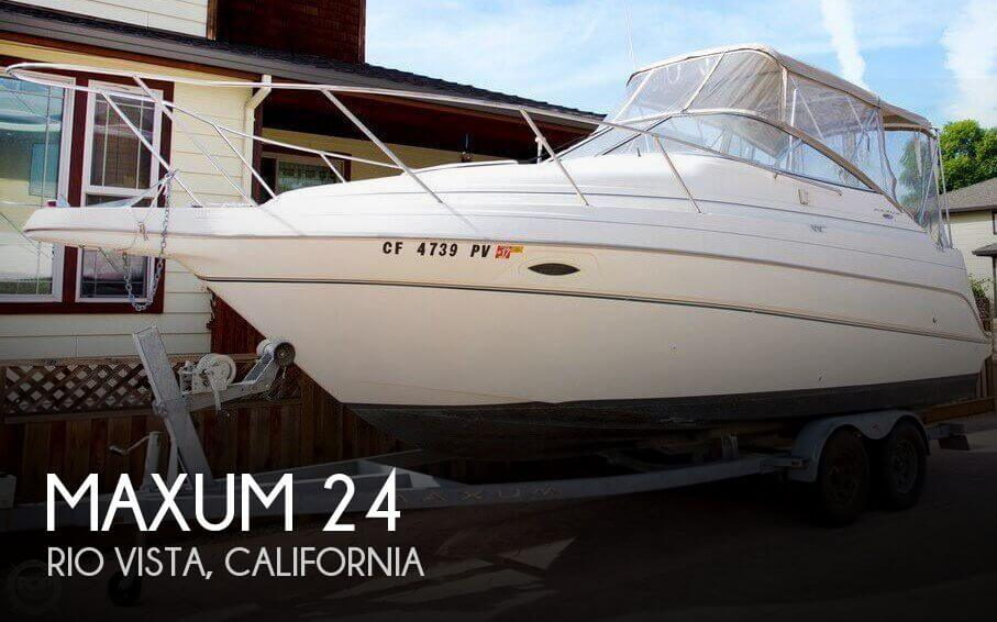 Used Maxum Boats For Sale in California by owner | 2002 Maxum 24
