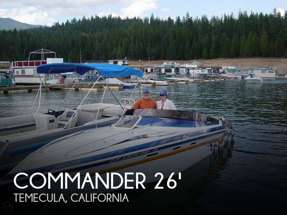Used Commander Boats For Sale by owner   2002 Commander 26