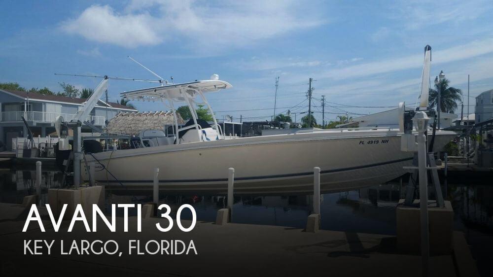 Used Avanti Boats For Sale by owner | 2006 Avanti 30