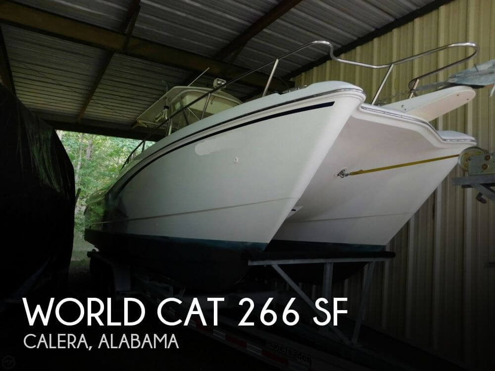 Used Boats For Sale in Montgomery, Alabama by owner | 2000 World Cat 266 SF
