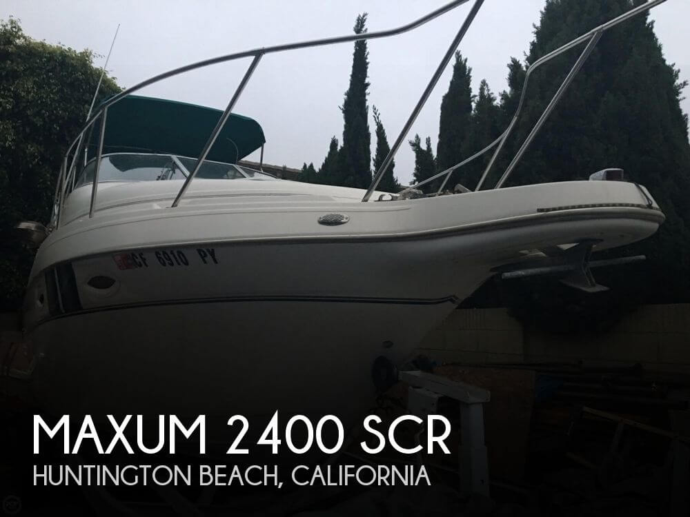 Used Maxum Boats For Sale in California by owner | 2002 Maxum 2400 SCR