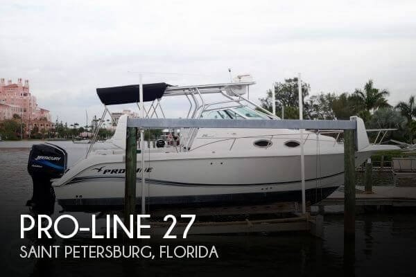 Used Pro-Line Boats For Sale in Florida by owner | 2002 Pro-Line 27