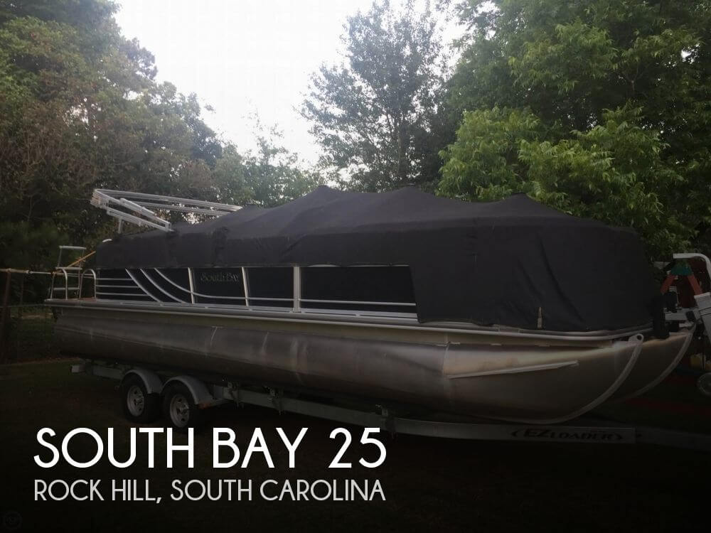 Used Pontoon Boats For Sale in South Carolina by owner | 2014 South Bay 25