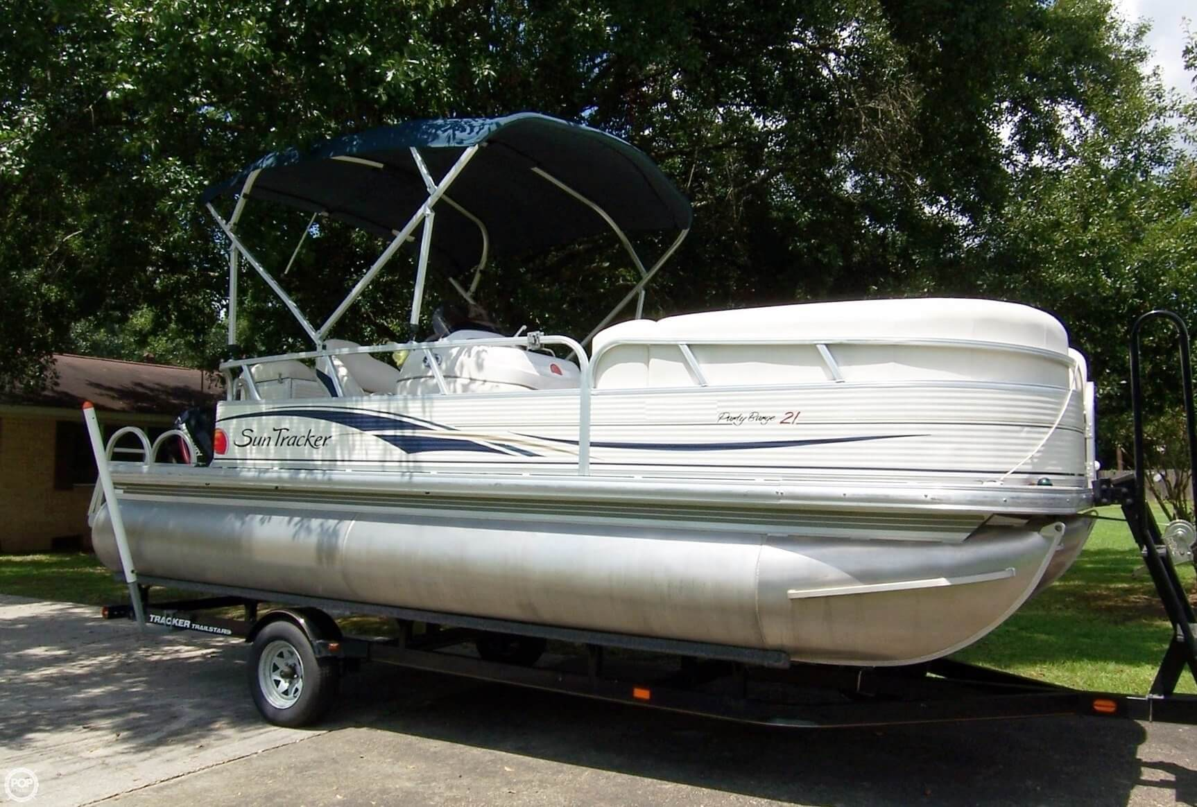 Sold Sun Tracker 21 Party Barge Signature Series Boat In Maurepas