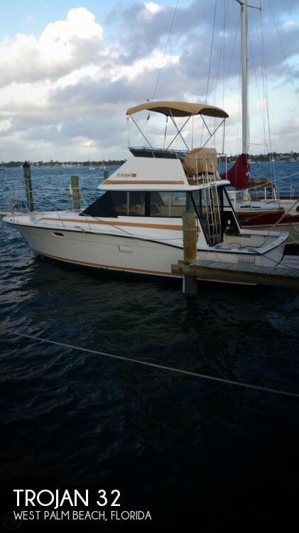 Used Boats For Sale by owner | 1974 Trojan 32