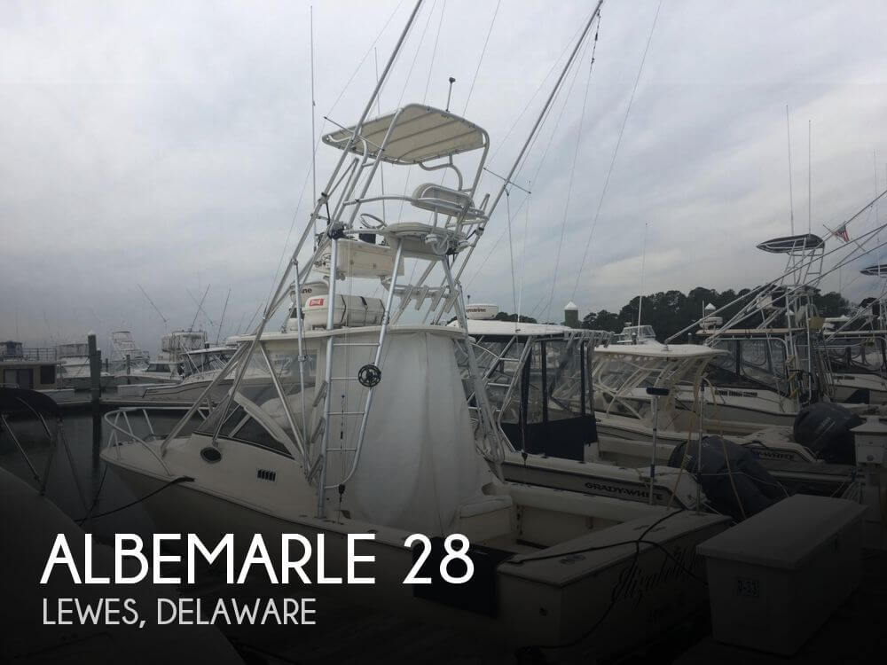 Used Boats For Sale in Atlantic City, New Jersey by owner | 2003 Albemarle 28