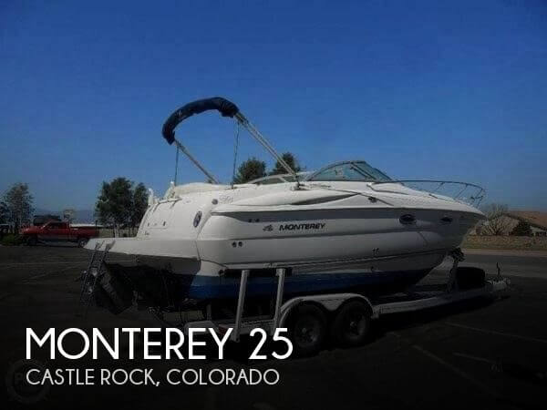 Used Boats For Sale in Colorado Springs, Colorado by owner | 2005 Monterey 25