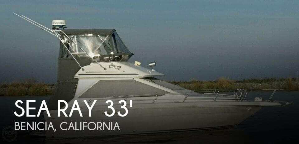 Used Sea Ray Boats For Sale in California by owner   1989 Sea Ray 33