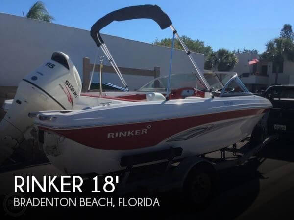 Used Rinker 18 Boats For Sale by owner | 2017 Rinker QX18 Fish & Ski