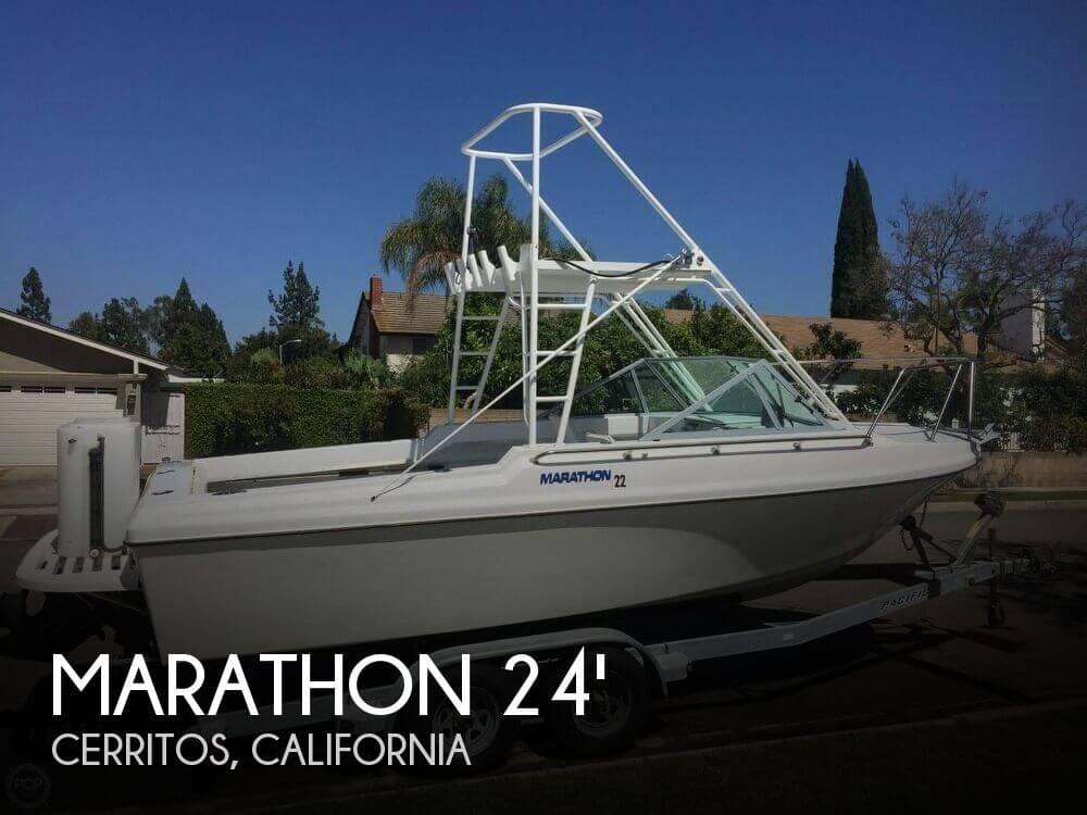 Used Marathon Boats For Sale by owner | 1984 Marathon 24