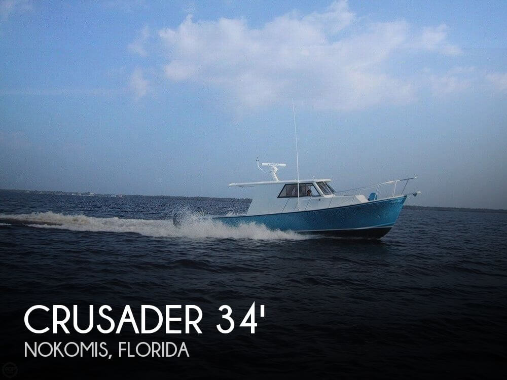 Used Crusader Boats For Sale by owner | 2004 Crusader 34 Express Fisherman