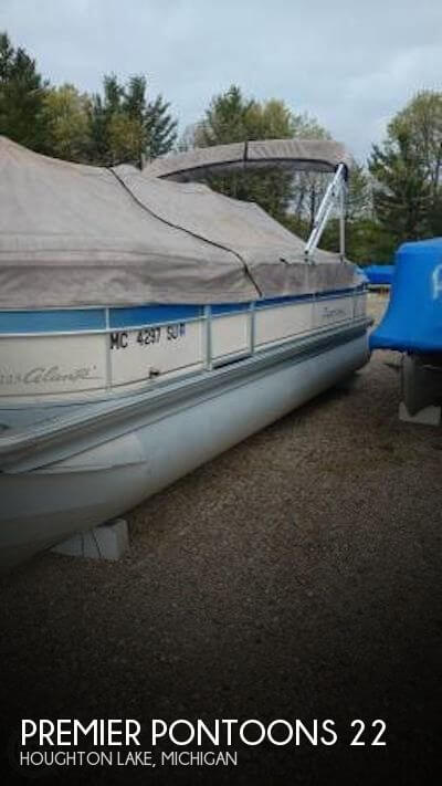 Used Pontoon Boats For Sale in Michigan by owner   2006 Premier Pontoons 22