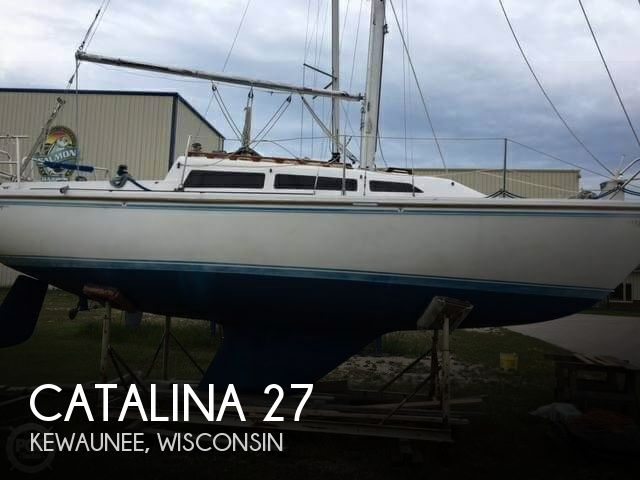 1987 Catalina Yachts boat for sale, model of the boat is 27 & Image # 1 of 13