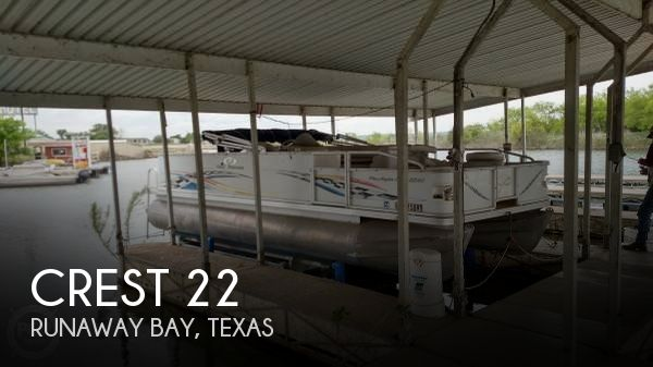 Used Pontoon Boats For Sale in Texas by owner | 2008 Crest 22