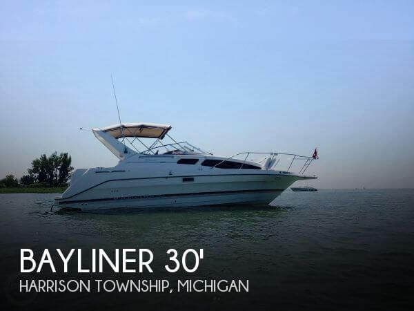 Used Bayliner Boats For Sale in Michigan by owner | 2000 Bayliner 30