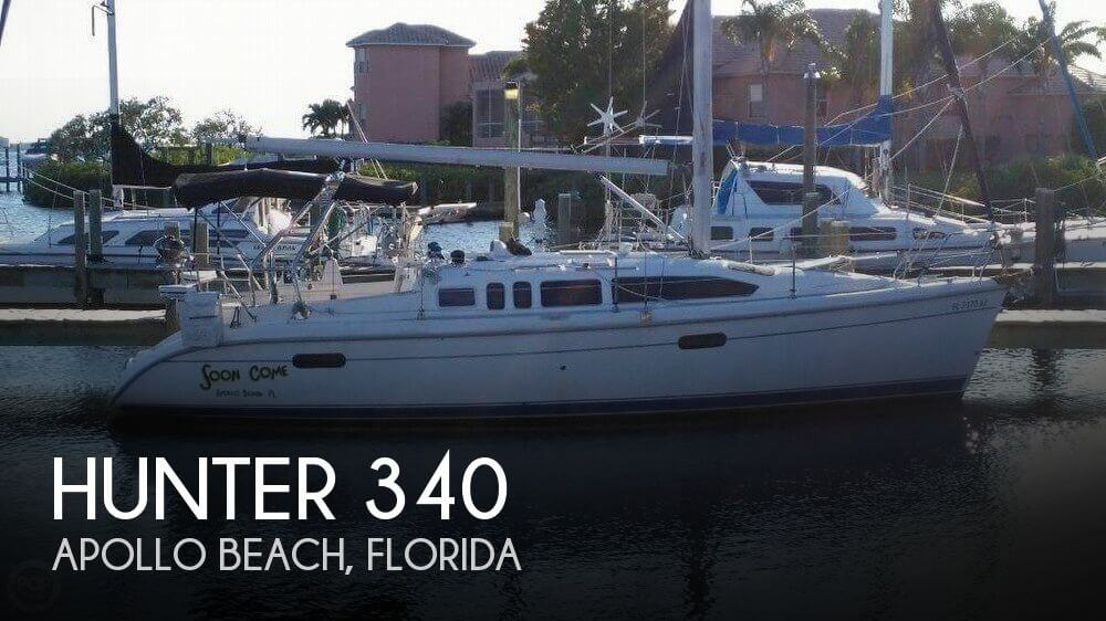 Used Hunter Sailboats For Sale in Florida by owner | 2001 Hunter 340