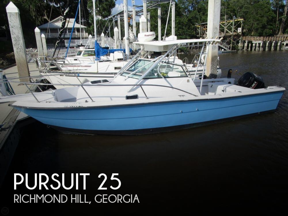 Used Pursuit Boats For Sale in Georgia by owner | 1989 Pursuit 25