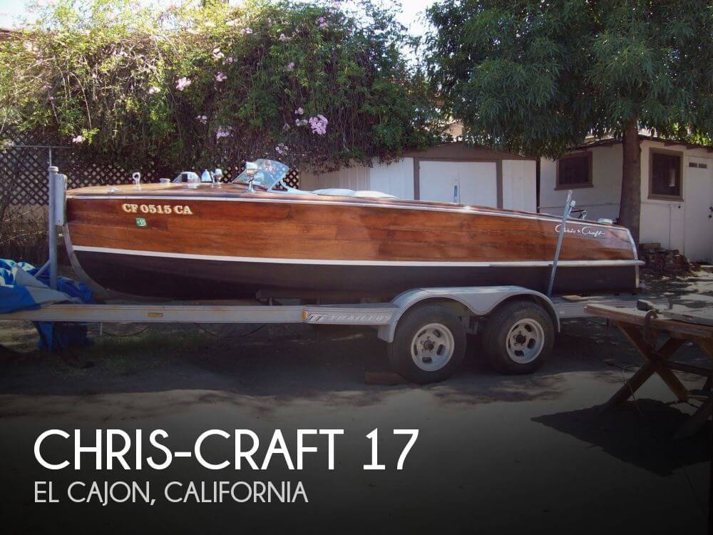 Used Chris-Craft Boats For Sale in California by owner | 1947 Chris-Craft 17
