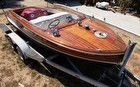 1947 Chris-Craft 17 Deluxe Runabaout - #1