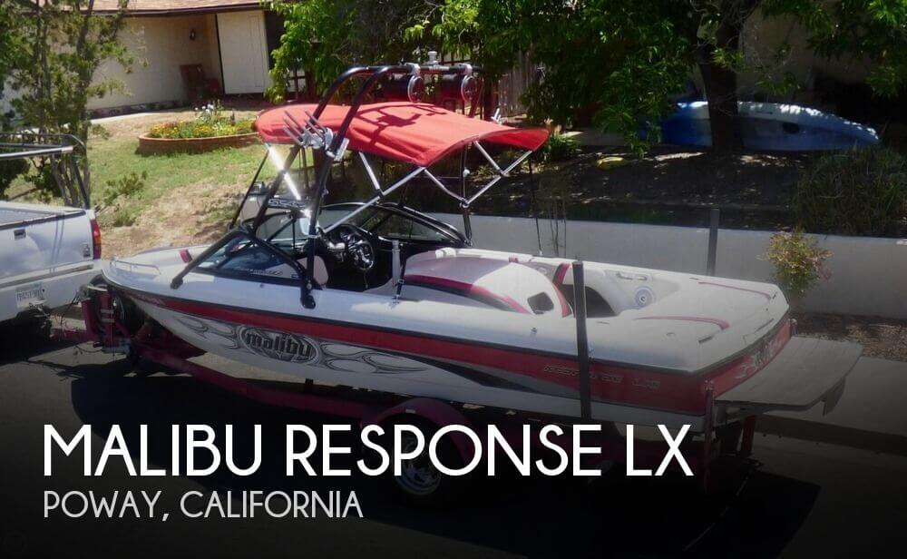 Used MALIBU Boats For Sale in California by owner | 2003 21 foot Malibu Response LX
