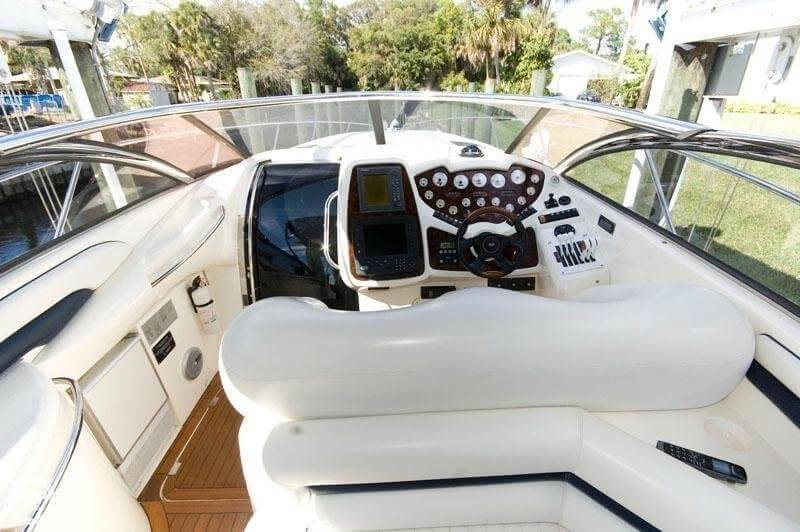 1999 Sunseeker boat for sale, model of the boat is Superhawk 48 & Image # 6 of 32