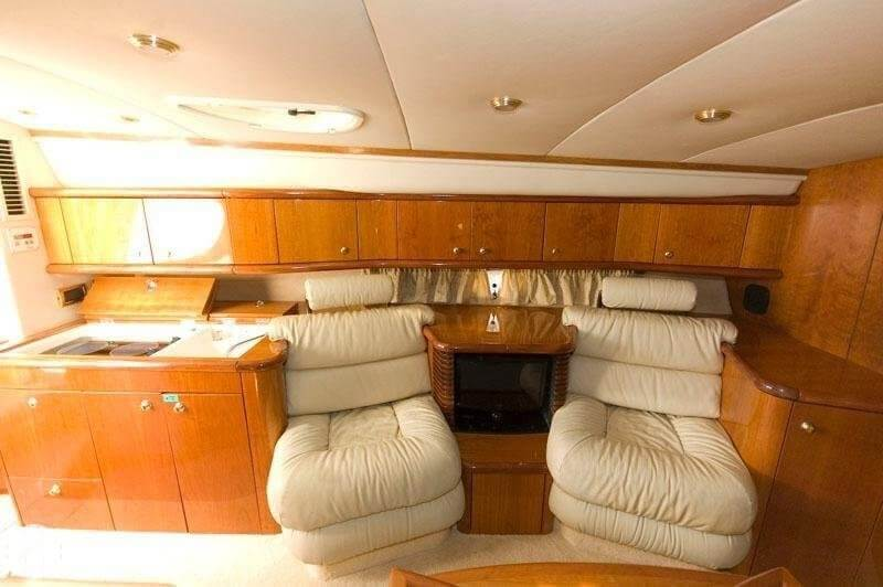 1999 Sunseeker boat for sale, model of the boat is Superhawk 48 & Image # 20 of 32