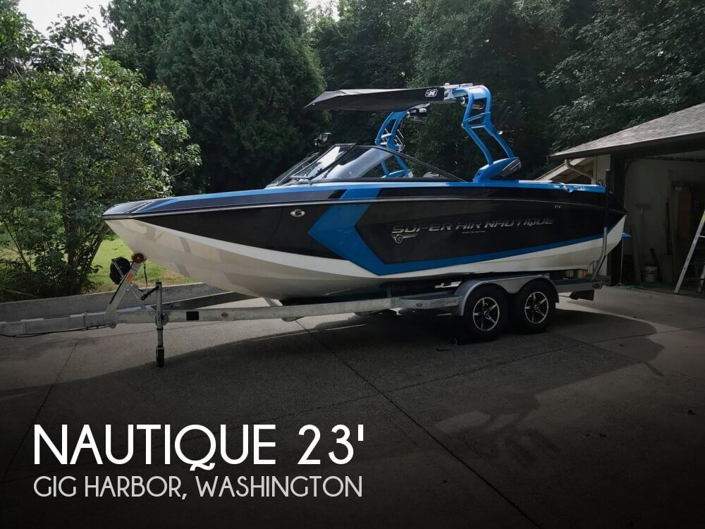 2016 NAUTIQUE SUPER AIR NAUTIQUE G 23 for sale