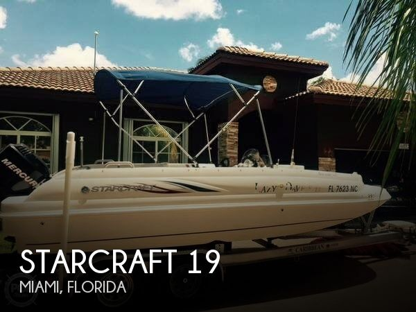 Used Deck Boats For Sale by owner   2006 Starcraft 19
