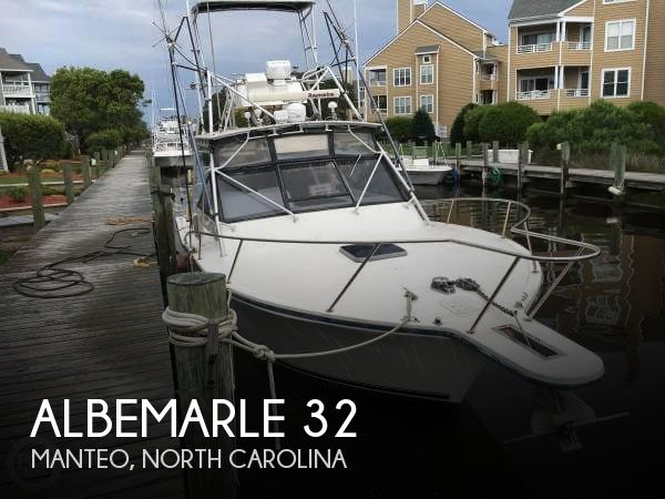Used Fishing boats For Sale in North Carolina by owner | 1995 Albemarle 32