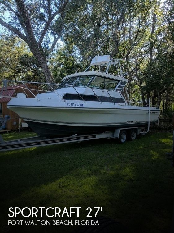 Used Boats For Sale by owner | 1990 Sportcraft 270 sport