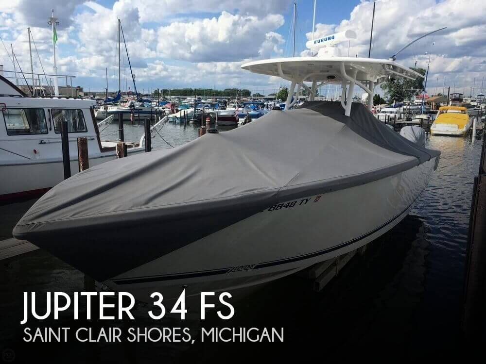Used Boats For Sale in Michigan by owner | 2016 Jupiter 34 FS
