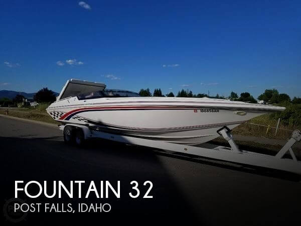 Used Boats For Sale in Idaho by owner | 1997 Fountain 32