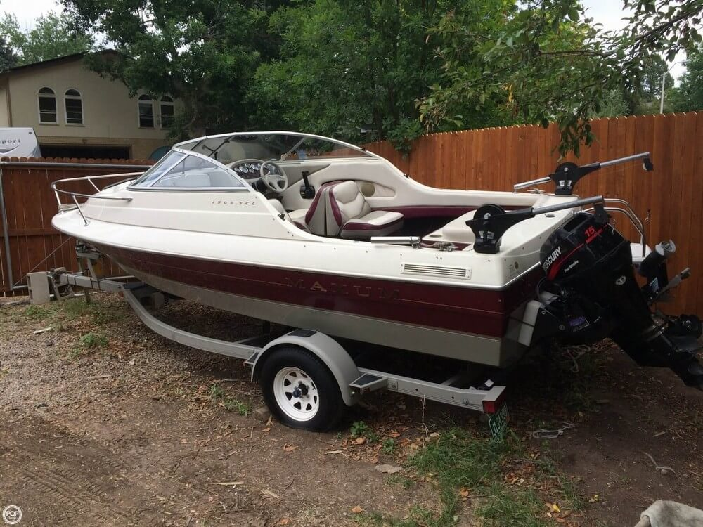1998 MAXUM 18 for sale