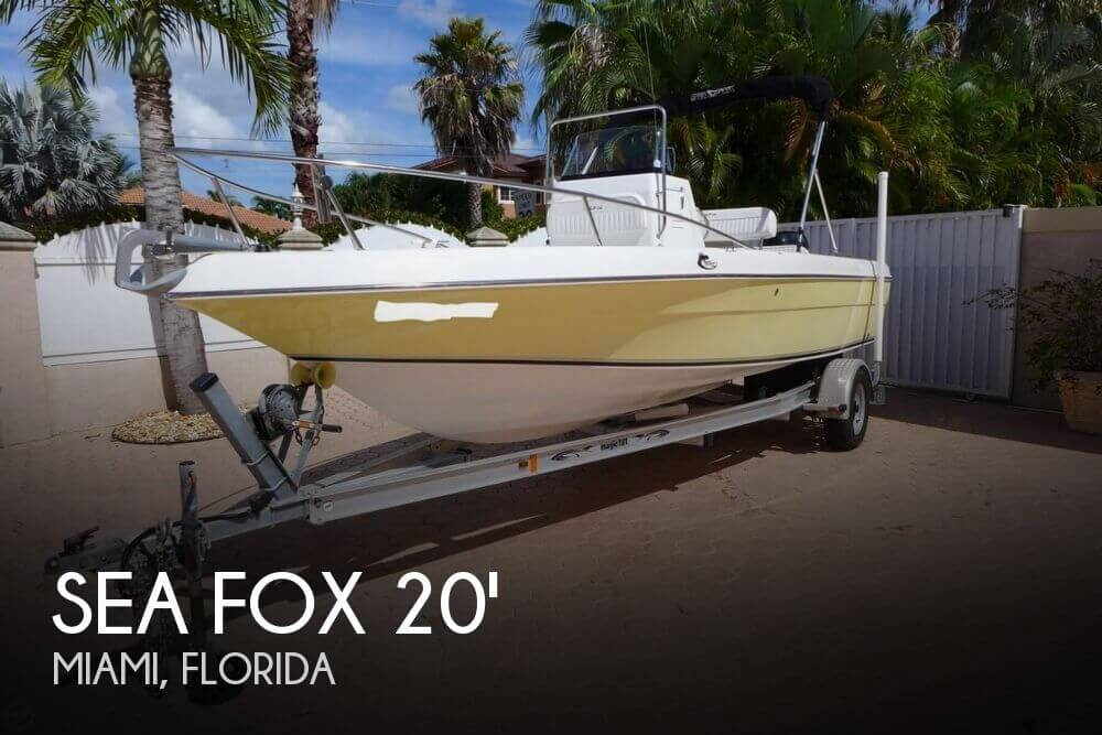 Used Sea Fox Boats For Sale in Florida by owner | 2007 Sea Fox 197 Center Console