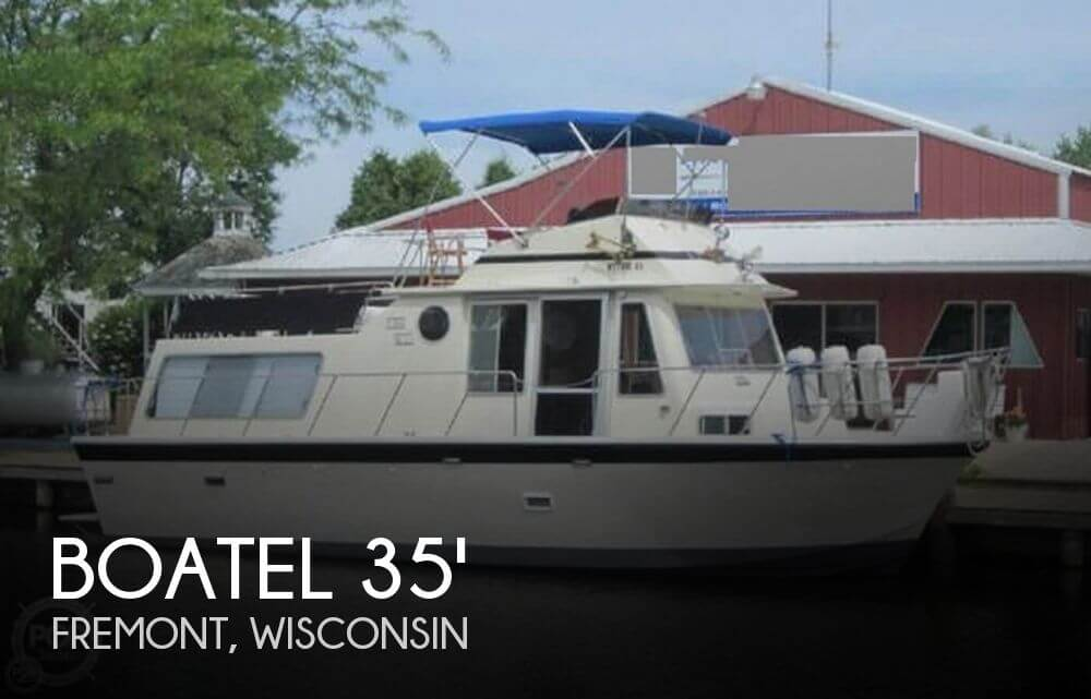 Used Houseboats For Sale in Appleton, Wisconsin by owner | 1977 Boatel Gulfstream 35