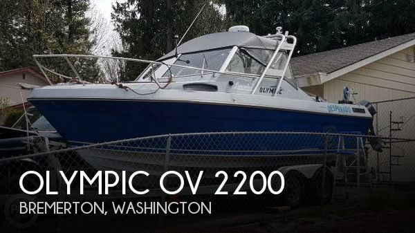 Used Olympic Boats For Sale by owner | 1987 Olympic 21