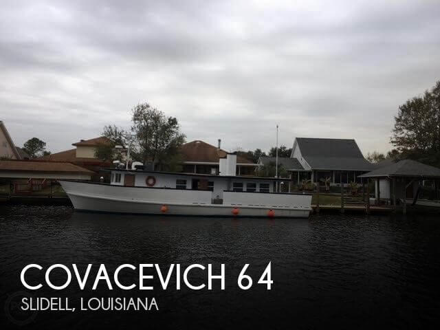 1961 Covacevich boat for sale, model of the boat is 64 & Image # 1 of 9