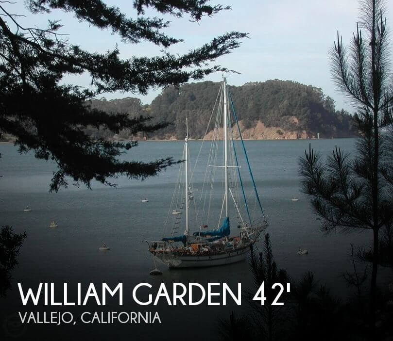 Used Sailboats For Sale in California by owner | 1968 William Garden 42