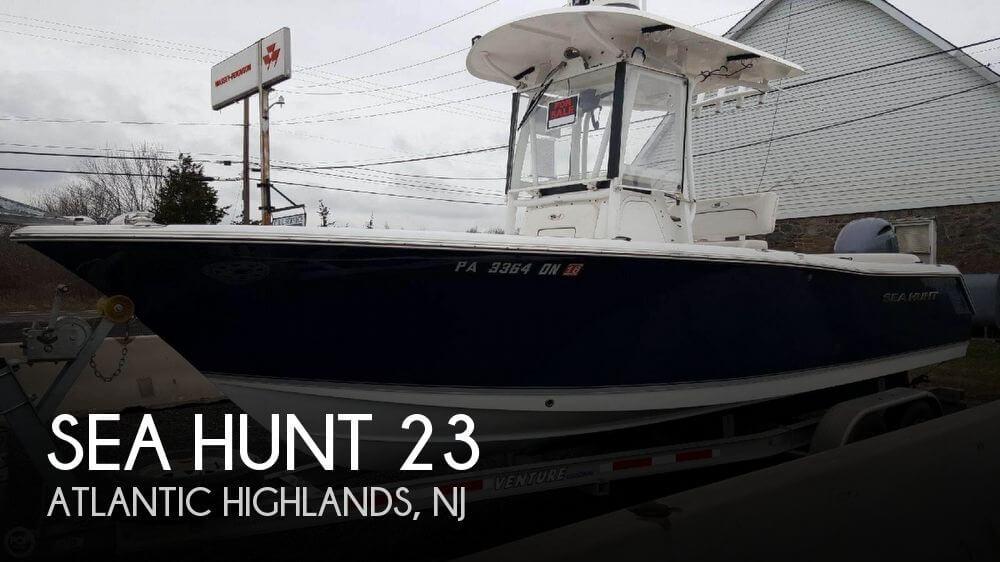 Sea hunt 23 39 boat for sale in atlantic highlands nj for for Atlantic highlands fishing boats
