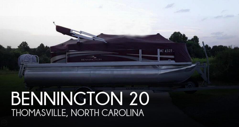 Used Pontoon Boats For Sale in North Carolina by owner   2011 Bennington 20