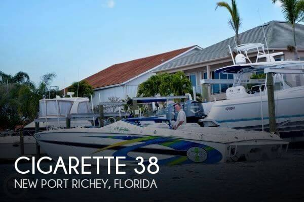 Used Cigarette Boats For Sale by owner | 2000 Cigarette 38