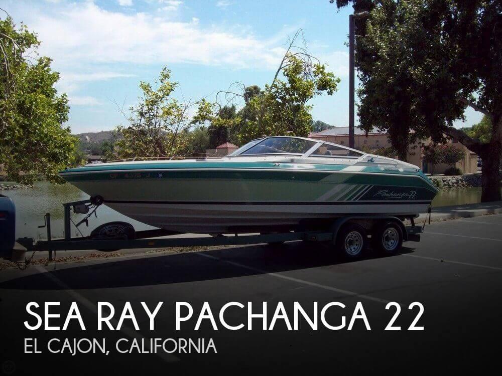 1988 SEA RAY PACHANGA 22 for sale