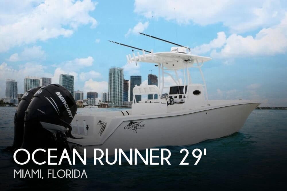 Used 29 Boats For Sale by owner | 2017 Ocean Runner 29