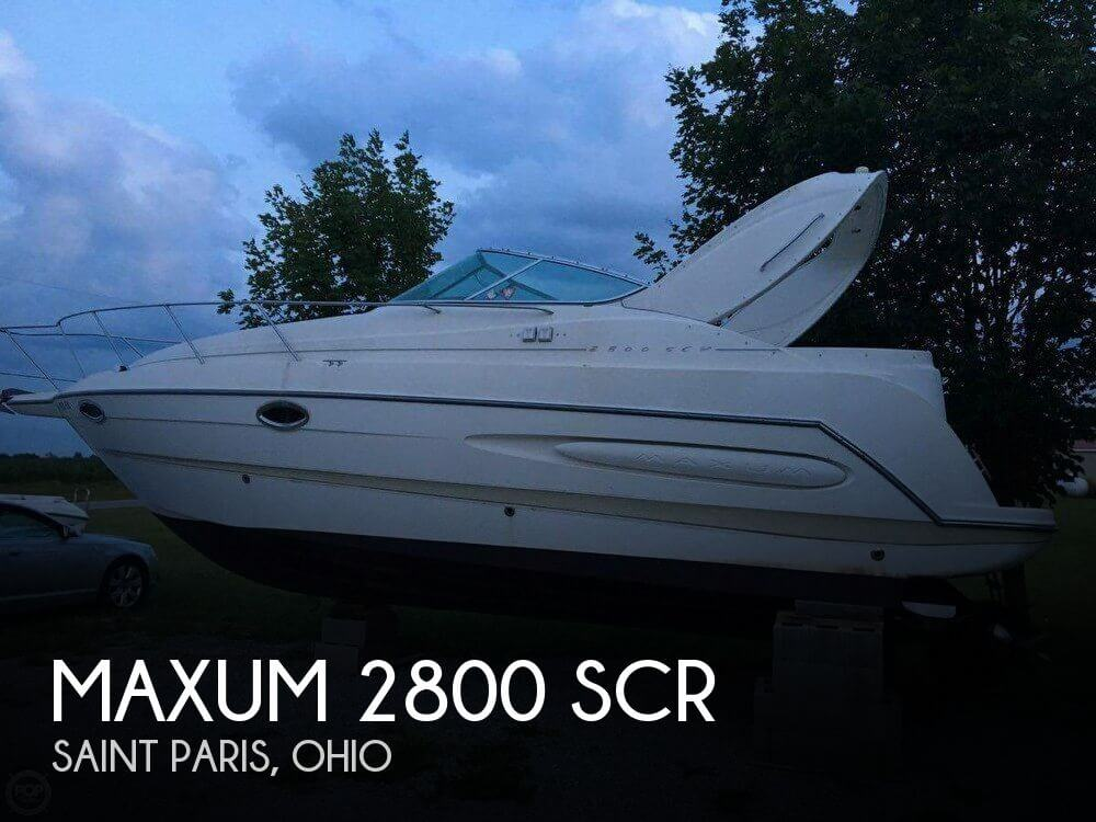 Used Boats For Sale in Columbus, Ohio by owner | 1999 Maxum 31