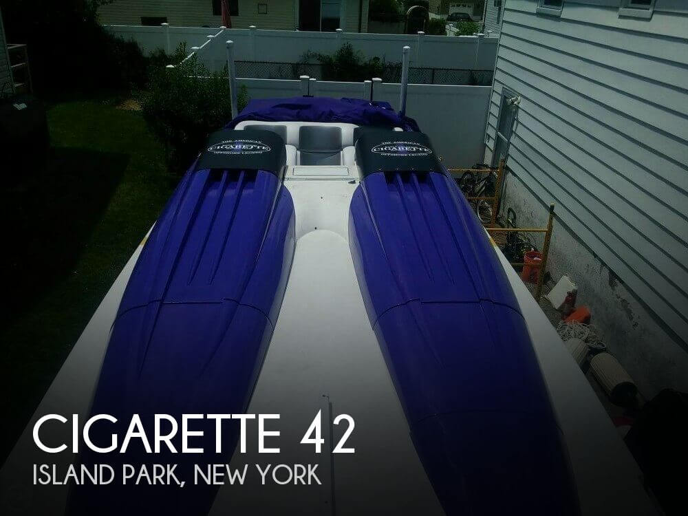 Used Cigarette Boats For Sale by owner   1996 Cigarette 42