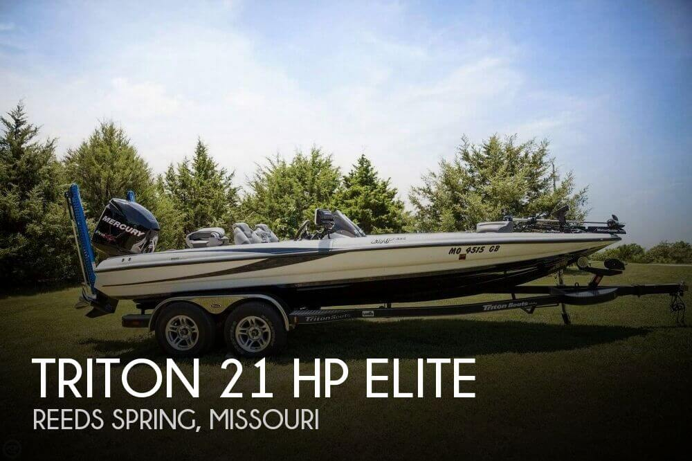 Used Boats For Sale in Springfield, Missouri by owner | 2012 Triton 21 HP Elite