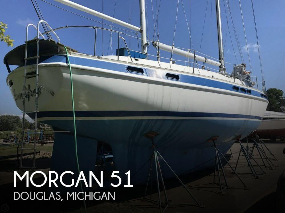 Used Boats For Sale in Grand Rapids, Michigan by owner | 1975 Morgan 51