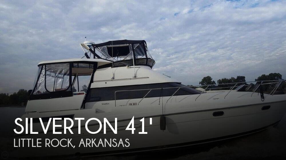 Used Boats For Sale in Little Rock, Arkansas by owner | 1991 Silverton 41