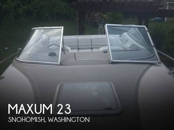 Used Maxum Ski Boats For Sale by owner | 1999 Maxum 23