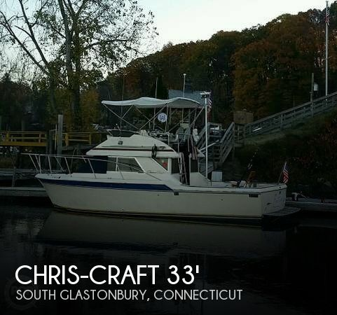 1984 CHRIS CRAFT 315 COMMANDER SPORT FISH for sale